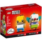 LEGO Brickheadz 41632 Homer Simpson & Krusty The Clown