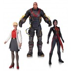 DC Collectibles Batman: Arkham Origins - Dr. Harleen Quinzel, Electrocutioner & Lady Shiva