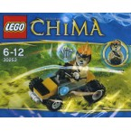 LEGO Legends Of Chima 30253 Leonidas' Jungle Dragster