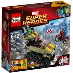 LEGO Marvel Super Heroes 76017 Captain America Vs Hydra