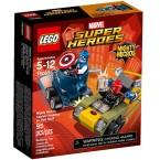 LEGO Marvel Super Heroes 76065 Mighty Micros: Captain America Vs Red Skull