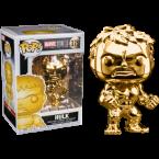 FUNKO POP! Vinyl Marvel: MS10 - Gold Chrome Hulk (33517)