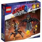 LEGO 70836 The LEGO Movie 2 : Battle-Ready Batman and Metalbeard