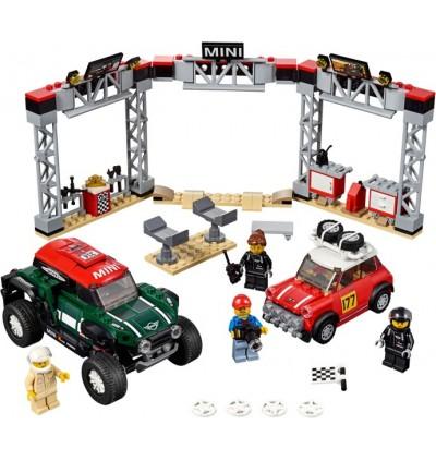 LEGO 75894 Speed Champions 1967 Mini Cooper S Rally & 2018 MINI John Cooper Works Buggy