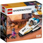 LEGO 75970 Overwatch Tracer vs Widowmaker