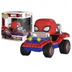 FUNKO POP! Ridez : Marvel Comics - Spider-Man with Spider-Mobile (29724) IE