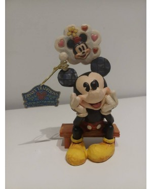 Enesco : Disney Traditions - Mickey with Love Thought