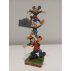 Enesco : Disney Traditions - Goofy, Donald & Mickey