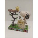 Enesco : Peanuts by Jim Shore - Snoopy & Woodstock Nest Warming Gift
