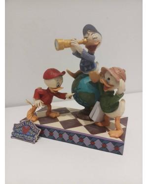 Enesco : Disney Traditions - Huey,Dewie and Louie Duck Tales