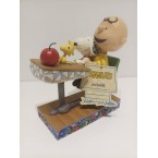 Enesco : Peanuts by Jim Shore - Peanuts Teacher's Pet