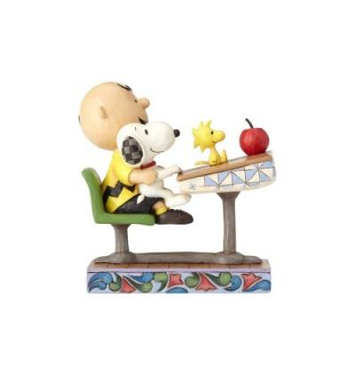 Enesco : Peanuts by Jim Shore - Peanuts Teacher's Pet