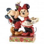 Enesco : Disney Traditions - Under the Mistletoe