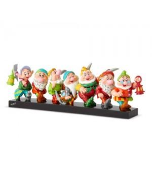 Enesco : Disney by Britto - Seven Dwarfs on Log