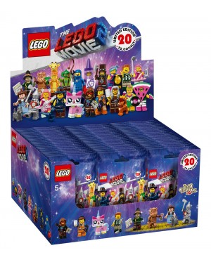 LEGO MINIFIGURES 71023 THE LEGO MOVIE 2: THE SECOND PART - (Sealed Box of 60)
