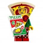 LEGO 71025 Series 19 Minifigures - Pizza Costume Guy