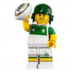 LEGO 71025 Series 19 Minifigures - Rugby Player