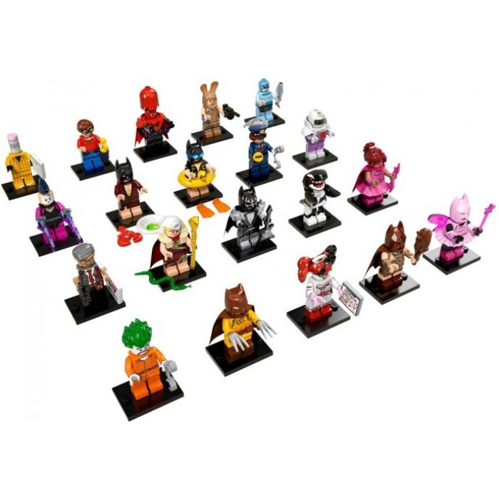 LEGO 71017 Batman Movie Series 1 Minifigures Full Complete ...