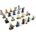 LEGO 71019 Ninjago Movie Minifigures Full Complete Set of 20