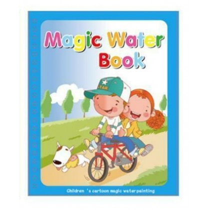 Magic Water Colouring Drawing Reusable Book for Children Ready Stock