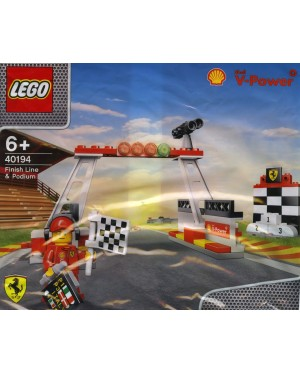 LEGO Shell 40194 Finish Line and Podium