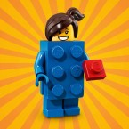 LEGO 71021 SERIES 18 MINIFIGURES - Brick Suit Girl