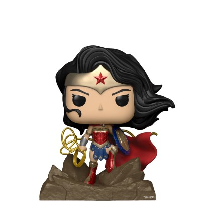 Funko POP! Vinyl Deluxe: Jim Lee Collection - Wonder Woman (Exclusive)