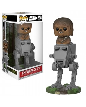 FUNKO POP! Deluxe: Star Wars: Chewbacca with AT-ST (27023)