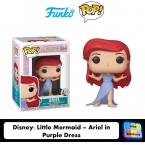 FUNKO POP! Vinyl Disney: The Little Mermaid - Ariel in Purple Dress (40101)