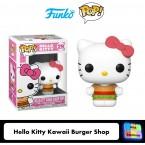 FUNKO POP! Vinyl Sanrio: Hello Kitty - Kawaii Burger Shop (43472)