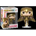 FUNKO POP! Vinyl Heroes: WW84 - Wonder Woman Gold Armour Flying Pose (Metallic) (46660)