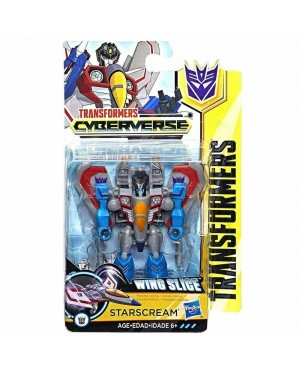 Hasbro Transformers Cyberverse : Power Of The Spark - Starscream Wing Slice ( Scout Class )