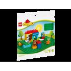 LEGO DUPLO 2304 Large Green Building Baseplate