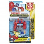 Hasbro Transformers Cyberverse Action Attackers: Warrior Class - Optimus Prime Action Figure