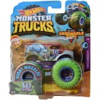 Hot Wheels Monster Trucks Bad Cattitude 10/75 (2/5 Tinted Wheels)