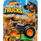 Hot Wheels Monster Trucks Tiger Shark 12/75 (3/6 Monster Trucks Live)