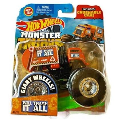 Hot Wheels Monster Trucks Will Trash It All 47/75 (9/10 HW Metro)