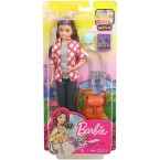 Mattel Barbie Travel Skipper Doll with Accessories