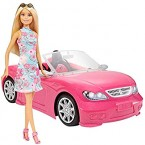 Mattel Barbie Doll and Convertible