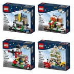 LEGO Bricktober 2014 Complete Set of 4
