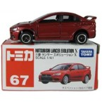 Takara TOMY Tomica Mitsubishi Lancer Evolution X (Red) #67