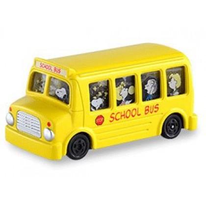 Takara TOMY Dream Tomica Snoopy School Bus