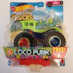 Hot Wheels Monster Trucks Loco Punk 13/75 (Neon Shockers 2/7)