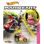 Hot Wheels Mario Kart 1:64 Peach with Standard Kart