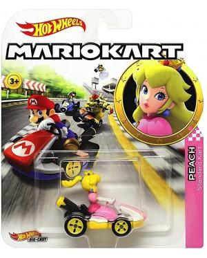 Hot Wheels Mario Kart 1:64 Peach with Standard Kart