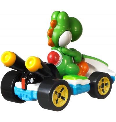 Hot Wheels Mario Kart 1:64 Yoshi with Standard Kart