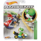 Hot Wheels Mario Kart 1:64 Yoshi with Standard Kart