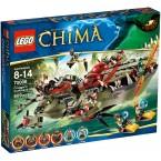 LEGO 70006 Legends of Chima Cragger's Command Ship