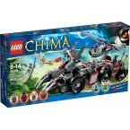 LEGO 70009 Legends of Chima Worriz's Combat Lair