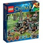 LEGO 70014 Legends of Chima The Croc Swamp Hideout